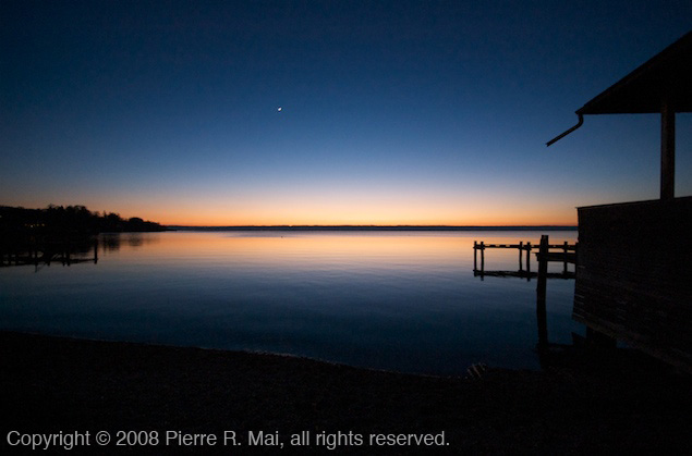 Ammersee at Nightfall